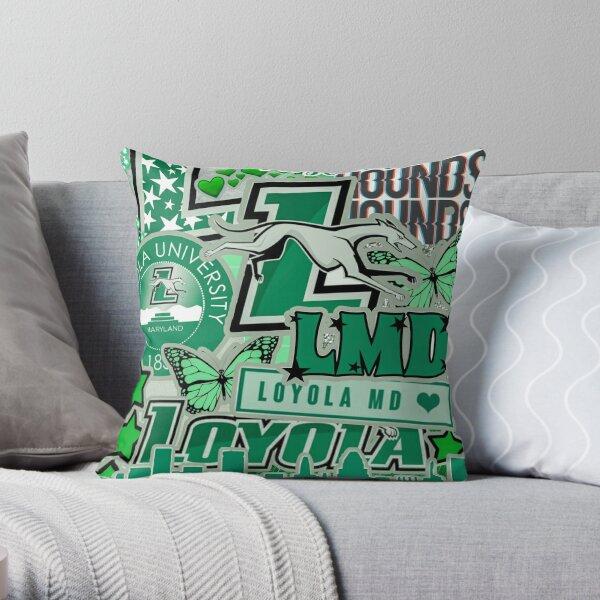 Loyola University Maryland Collage Throw Pillow