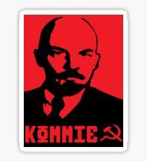Kommie - Lenin Sticker