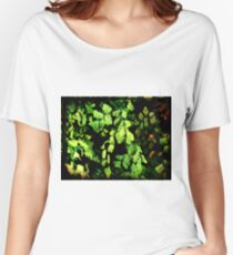 Leaves My Heart Women's Relaxed Fit T-Shirt