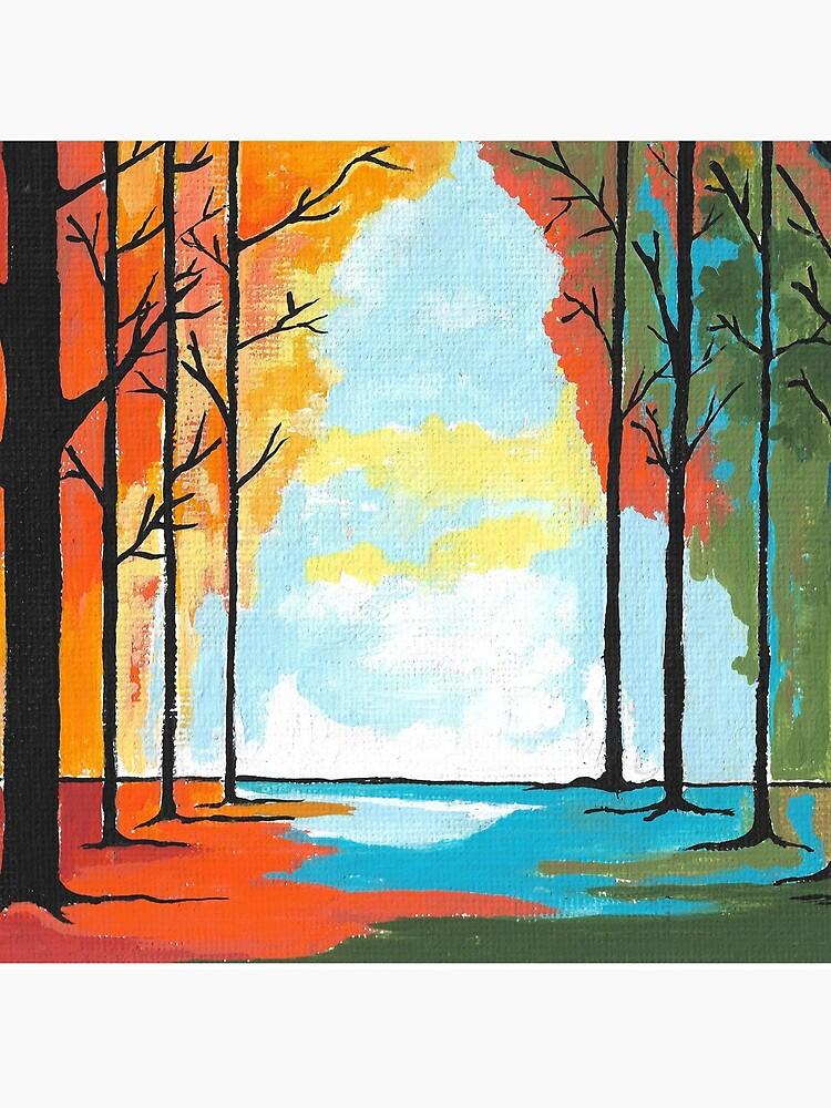 Autumn Forest by kathlesa