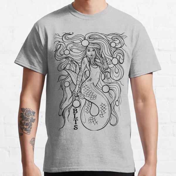 Bearded Lady Tattoo Studio Mermaid Classic T-Shirt