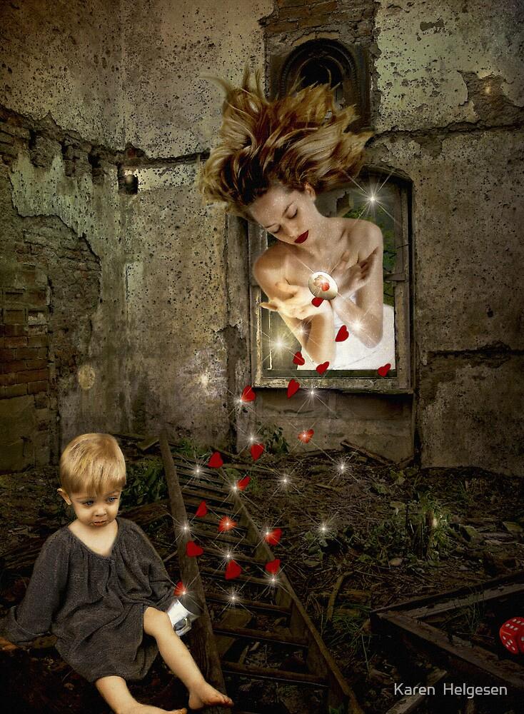 Easily Ignored.... by Karen  Helgesen