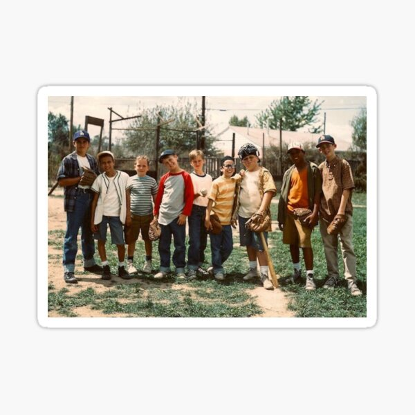 The boys from The Sandlot Sticker