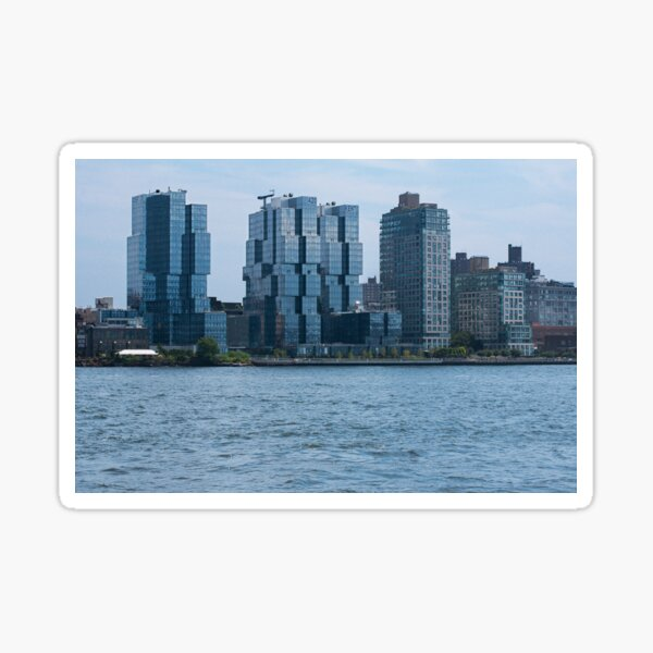 East River View Sticker