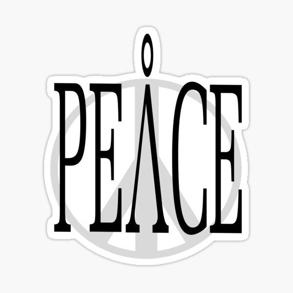 Peace 2 Sticker