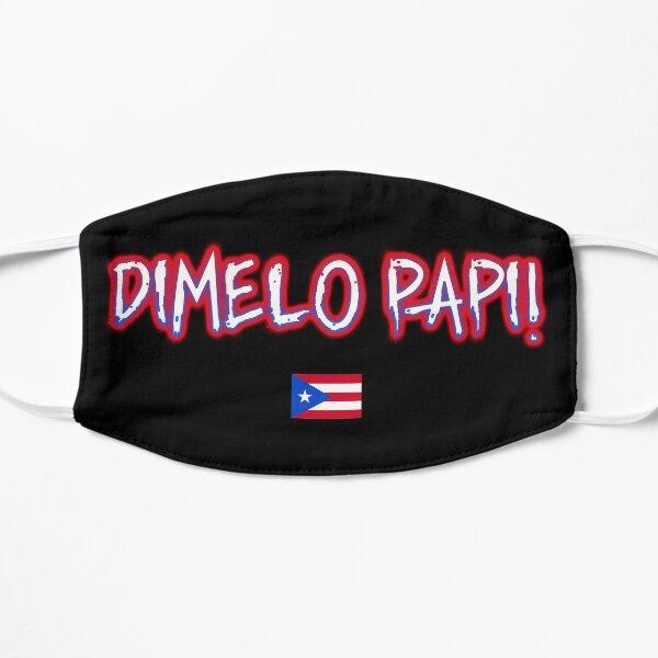 Nicky Jam - Dimelo Papi Puerto Rico Mascarilla plana