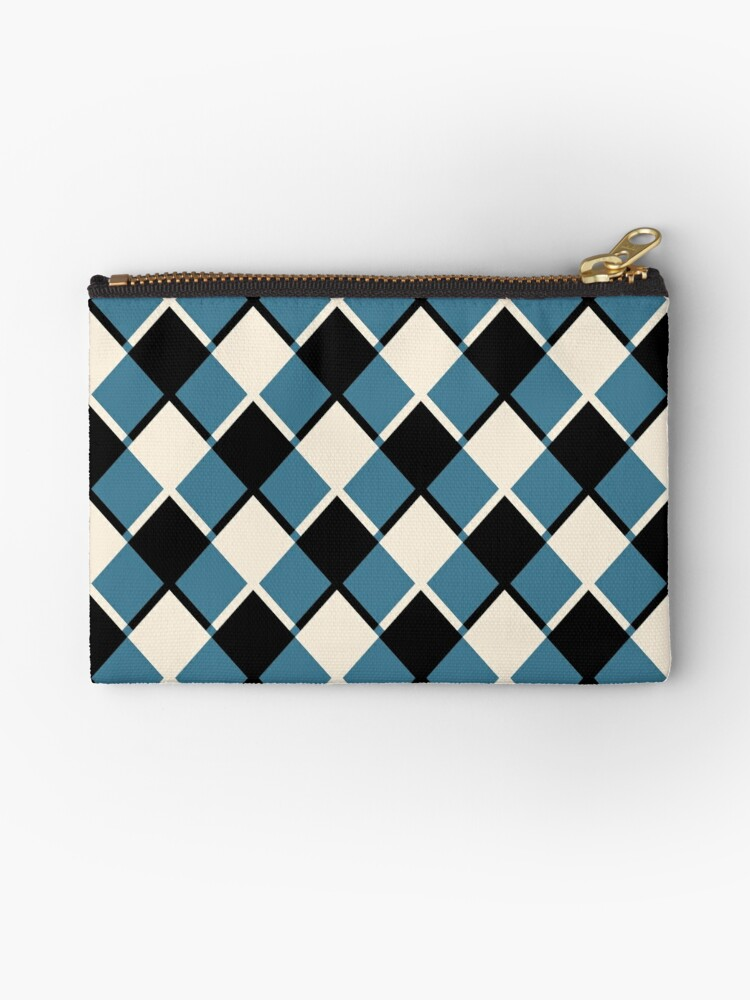 blue and black square_ by susycosta