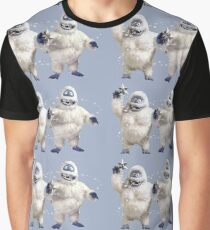 Abominable snowman couple at Christmas Graphic T-Shirt
