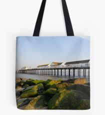 Evening on the beach II Tote Bag