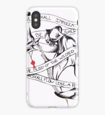 Boondock Saints Reaper iPhone Case/Skin
