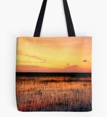 Sunset. East Lake Toho. Tote Bag