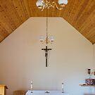 Building, Chapel, Stone altar by Hugh McKean