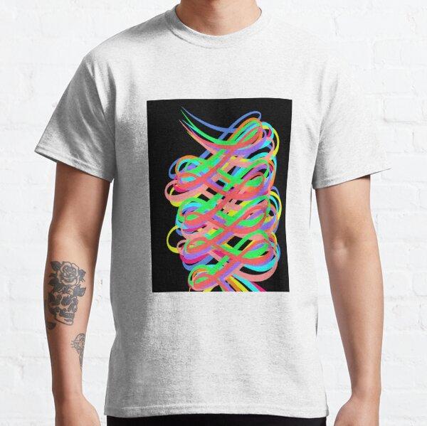 Neon Swirls - 80s Style - Graduation Gift Idea Classic T-Shirt