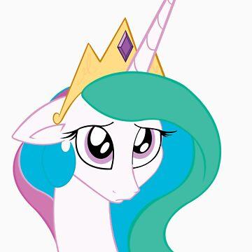 Princess Celestia is sorry by Marmbo