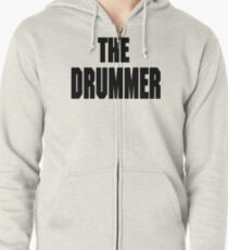 THE DRUMMER (DAVE GROHL / TAYLOR HAWKINS) Zipped Hoodie