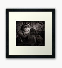 Barrow Boy Framed Print