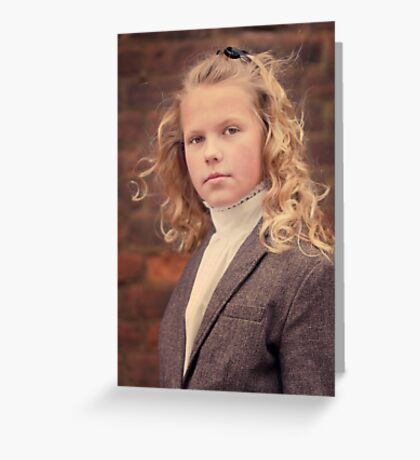 Goldie Locks Greeting Card