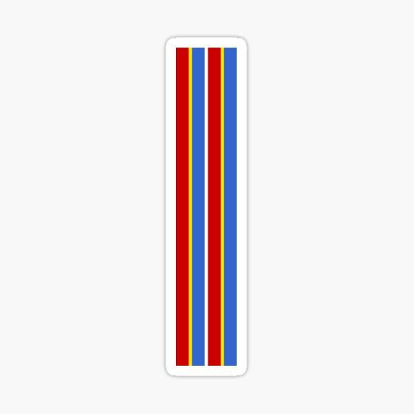 ernie stripes Sticker