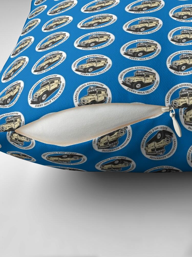 Alternate view of Blue Circle  Floor Pillow