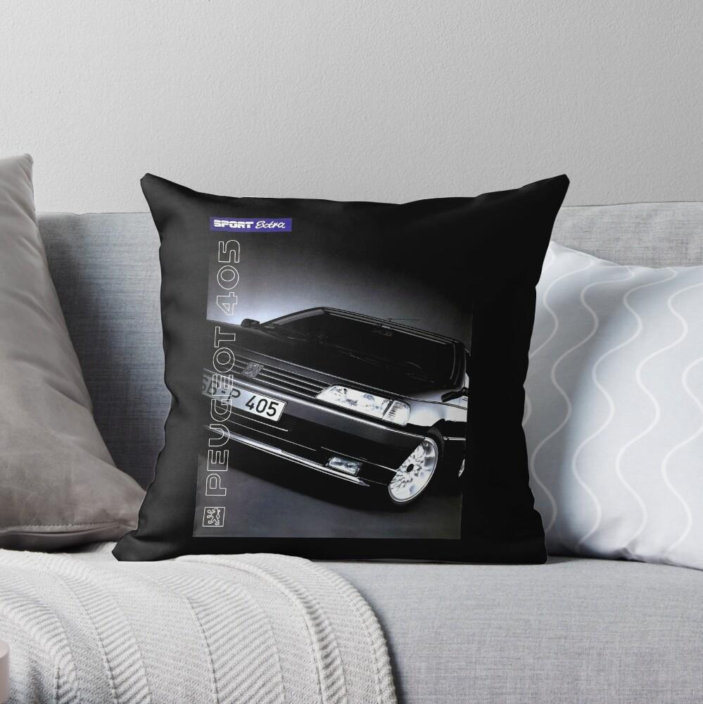 PEUGEOT 405 Throw Pillow