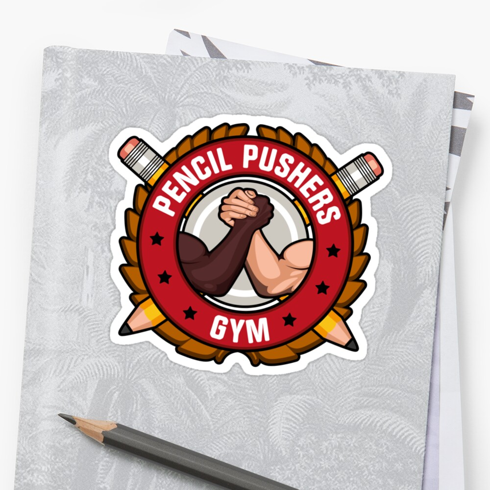 Pencil Pushers Gym by DeardenDesign