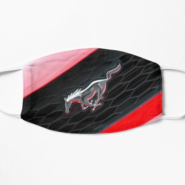 Ford Mustang Badge Flat Mask