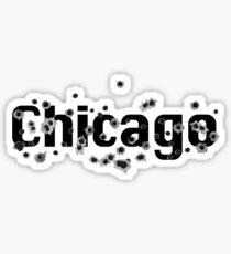 Chicago Mafia History Boss Gunshots  Sticker