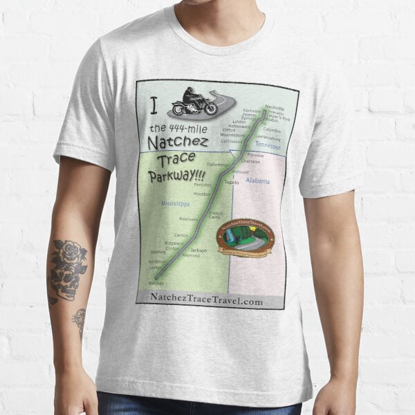 I Rode the Natchez Trace Parkway. Essential T-Shirt