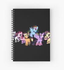My Little Pony Collection Spiral Notebook