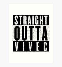 Adventurer with Attitude: Vivec Art Print