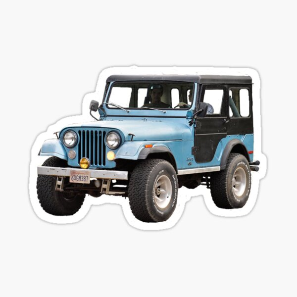 Stiles Stilinski Jeep  Sticker
