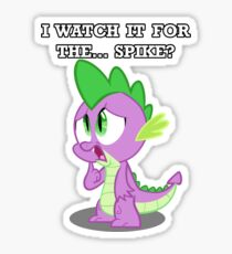 For the... Spike? Sticker