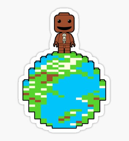 LITTLE BLOCK PLANET Sticker