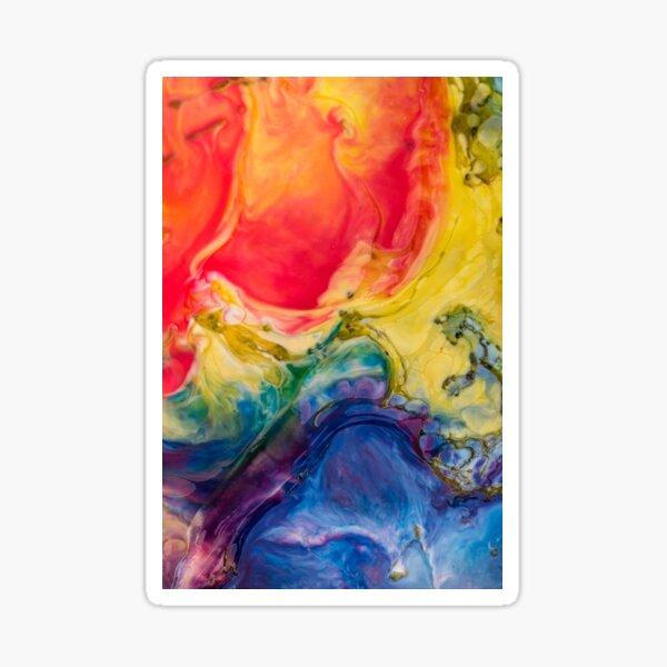 Multi colour pattern  Sticker