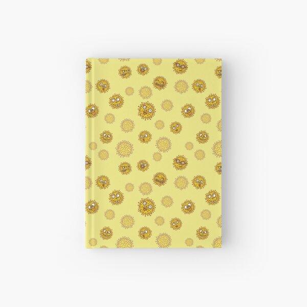 cheeky viruses yellow Hardcover Journal