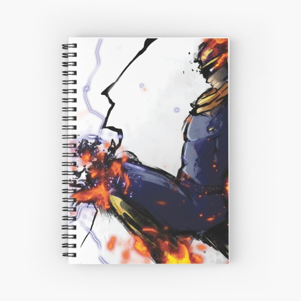 The Captain's Flying Knee Spiral Notebook
