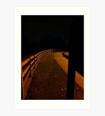 Dark Path Art Print