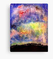 The Night Sky Canvas Print