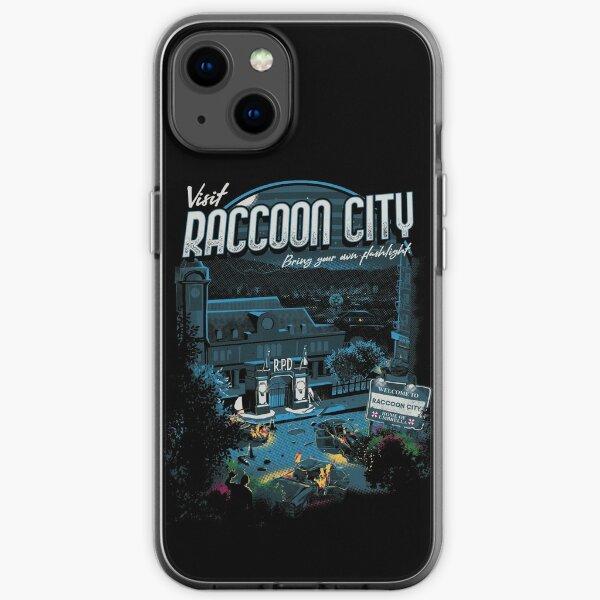 Visit Raccoon City iPhone Soft Case