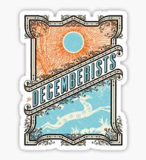 The Decemberists: Deer Design Sticker