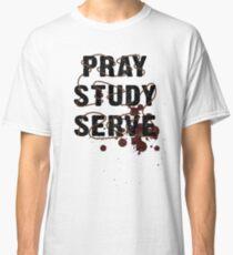 Pray Study Serve: Thorns Classic T-Shirt