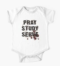 Pray Study Serve: Thorns One Piece - Short Sleeve