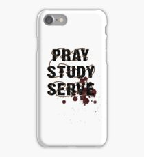 Pray Study Serve: Thorns iPhone Case/Skin