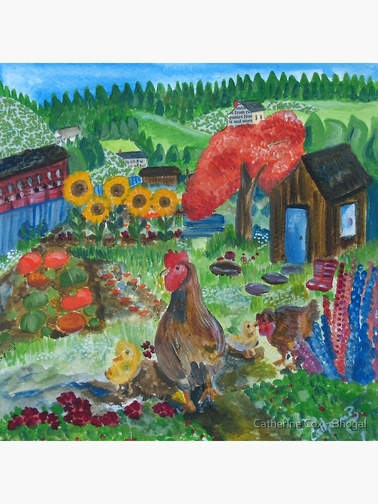 Day at the allotment by Starsthatshine