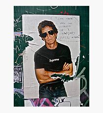 LOU REED POSTER Photographic Print