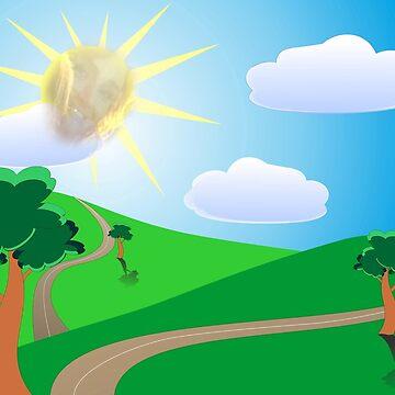 Idina Menzel Sunshine Summer Day by morganalexander