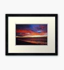 Beachport Sunrise Framed Print