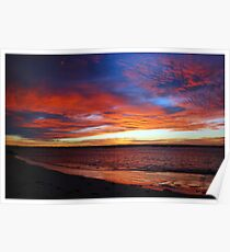 Beachport Sunrise Poster