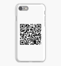 Quick Response - White iPhone Case/Skin