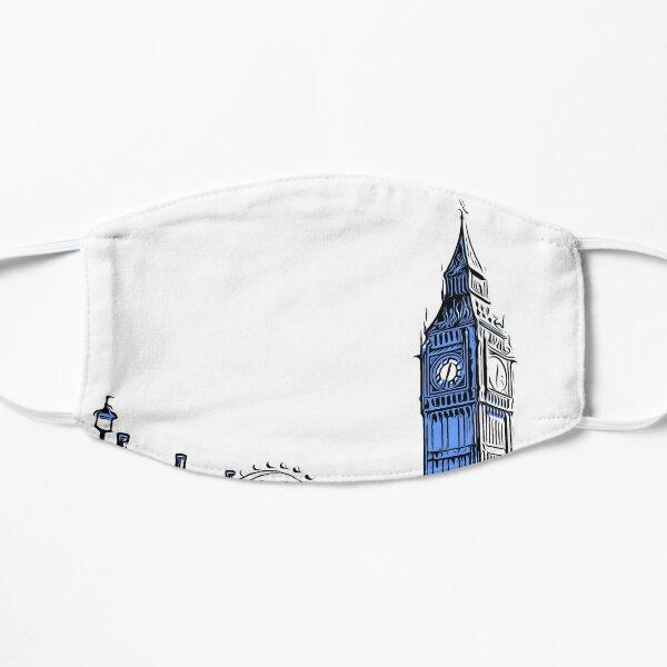 Big Ben & The London Eye Flat Mask